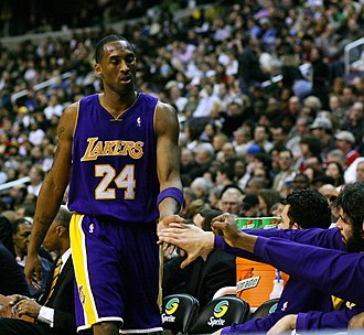 2006–07 Los Angeles Lakers season - Kobe Bryant scored 65 points against the Trail Blazers on March 16. He also scored 60 points against the Grizzlies on March 22.