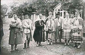Poleshuks - Image: Kobryn Local People ca 1916 Tomek