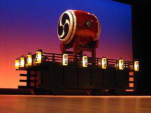 Kodō (taiko group) - A taiko drum used by Kodo