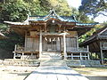 Kokage shrine Haiden.jpg
