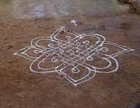 Kolam – a Traditional art form of the Tamil people