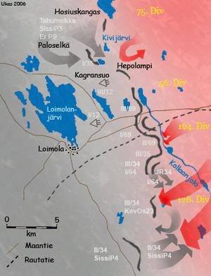 Battle of Kollaa - Image: Kollaan taistelut maalis 1940