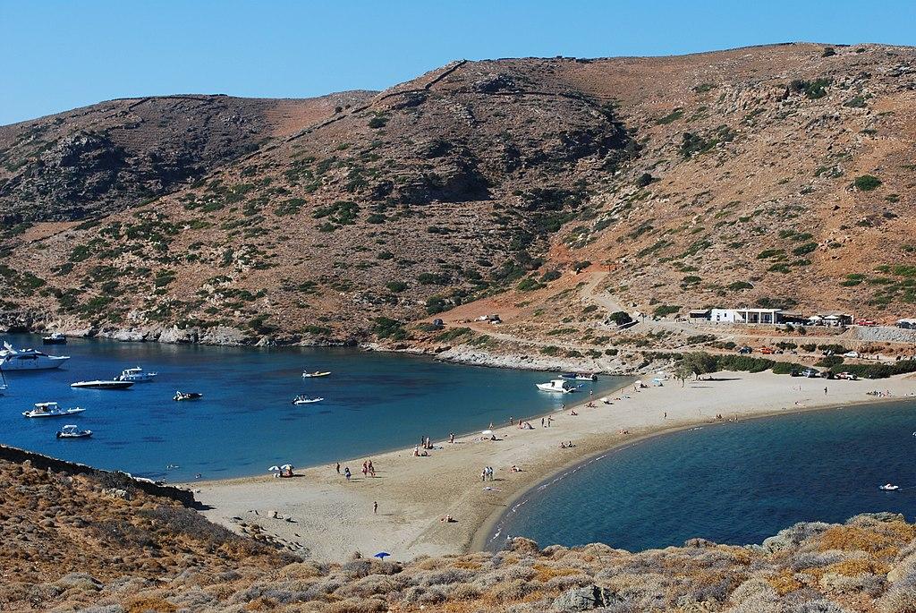 Kolona Beach In Kythnos Island