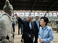 Korea President Park Terracotta Warriors 20130630 02.jpg