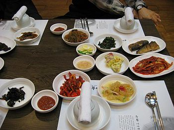 Korean side dishes-Banchan
