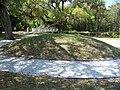 Koreshan SHS mound02.jpg