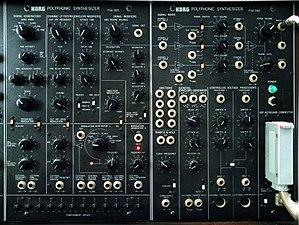 Korg PS-3300 - PSU-3301 and PSU-3302 units