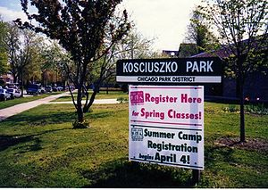 Kosciuszko Park (Chicago) - Kosciuszko Park is located by the intersection of Diversey and Pulaski.