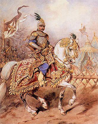 Rittmeister - Polish rotmistrz of an armoured regiment
