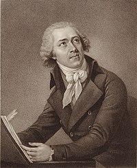 Portrait of Leopold Koželuh by W. Ridley (Source: Wikimedia)