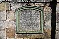 Kreuzigungsgruppe am Stein, Poppenhausen, Inschrift.jpg