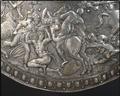 Krig med amazonerna på Erik XIVs sköld från 1562 - Livrustkammaren - 4600.tif