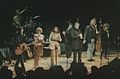 Kris Kristofferson and Johnny Cash at the University Concert Hall, Limerick 1993 (9420889695).jpg