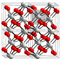 Crystal structure of zirconium (IV) oxide