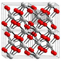 Kristallstruktur von Zirconium(IV)-oxid