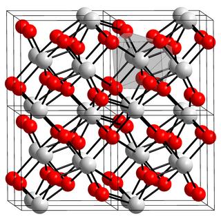 Hafnium dioxide chemical compound