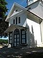Kristiansand, Tveit kirke, inngangsparti.JPG