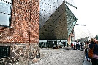 Aart Architects - Image: Kulturværftet main entrance