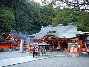 Religion in Japan - The Kumano Nachi Shrine is an ancient site of kami worship.