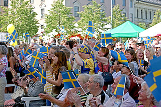 National Day of Sweden public holiday on June 6