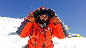 Kuntal Joisher - Image: Kuntal joisher summit fullface