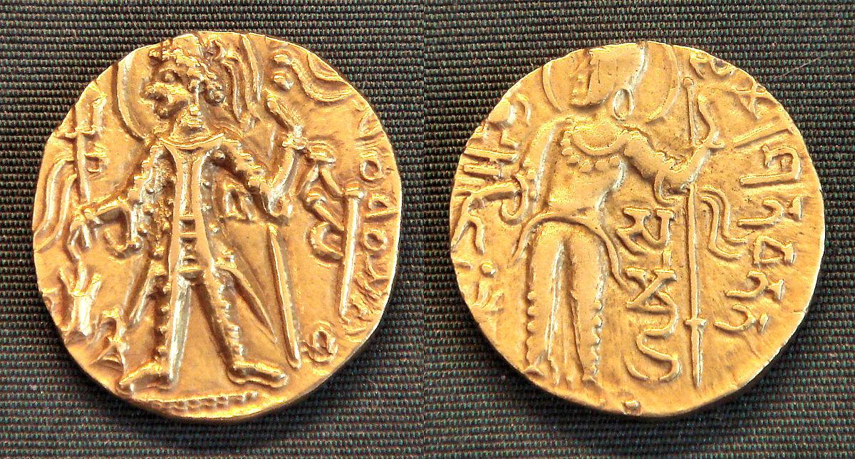 Kushan coinage - Wikipedia