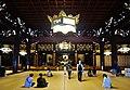 Kyoto Higashi Hongan-ji Gründerhalle Innen 1.jpg