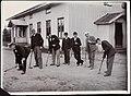 Lærere ved Landbrukshøgskolen på Ås spiller krokket, ca 1910 (8547084839).jpg