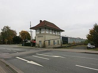 Lüdinghausen railway station - Image: Lüdinghausen BF JM 07