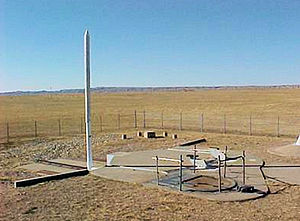 821st Strategic Aerospace Division - Minuteman missile silo of the division's 44th Strategic Missile Wing