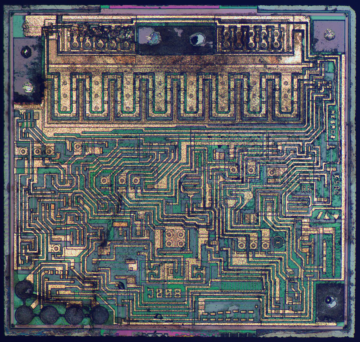Low Dropout Regulator Wikipedia The Circuit Board Showing Calculator Integrated Just