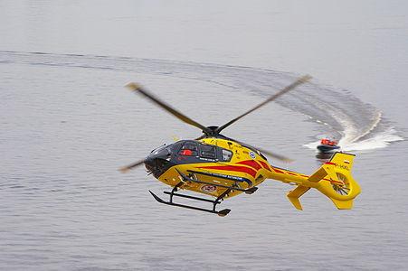 EC 135 air ambulance