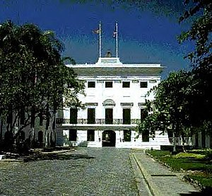 Governor of Puerto Rico -  La Fortaleza is the oldest governor's mansion in continuous use in the Western Hemisphere