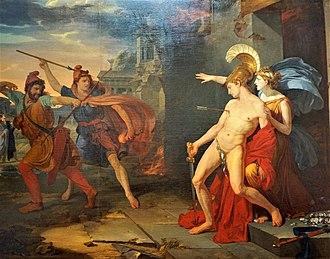 Lysander - Image: La mort d'Alcibiade Philippe Chéry 1791