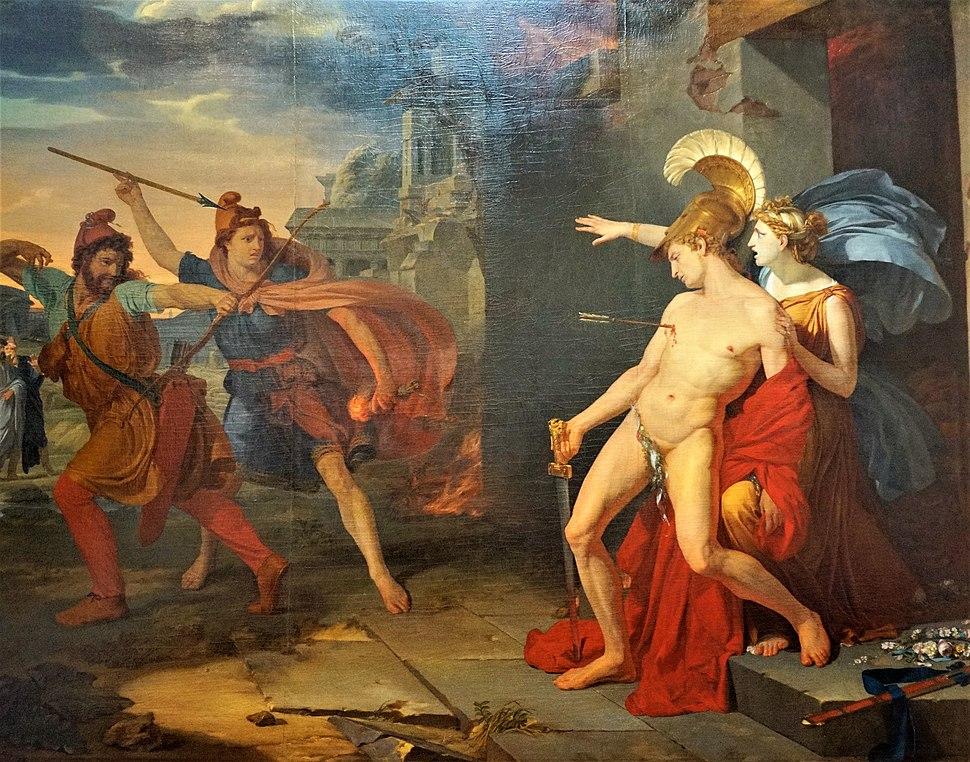 La mort d'Alcibiade Philippe Chéry 1791