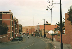 Downtown view of El Aaiún