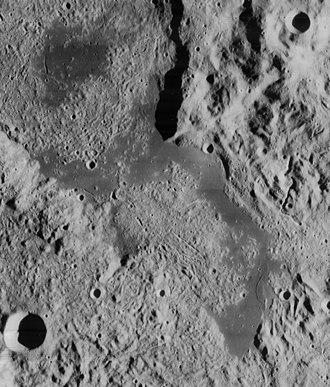 Lacus Autumni - Lunar Orbiter 4 image