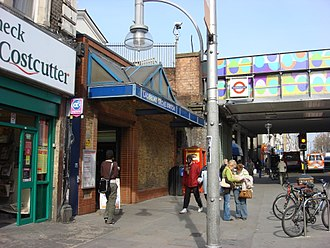 Ladbroke Grove tube station - Image: Ladbroke Grove tube station 4