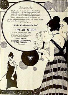 <i>Lady Windermeres Fan</i> (1916 film) 1916 film by Fred Paul