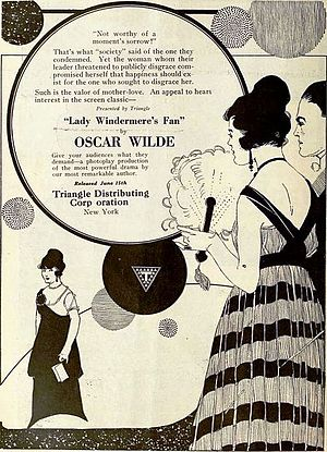 Lady Windermere's Fan (1916 film) - Ad for 1919 American release of film