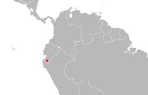 Lagidium ahuacaense distribution.png