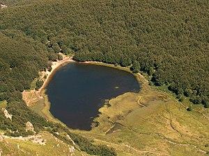Baccio Lake - Image: Lago Baccio