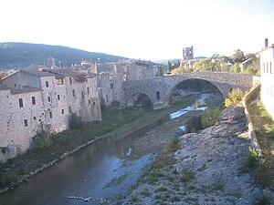 Lagrasse - Image: Lagrasse pont vieux