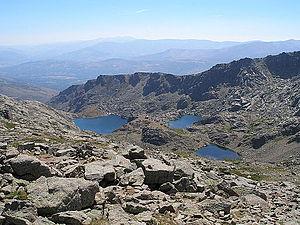 Sierra de Béjar (mountain range) - Trampal lakes