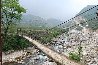 Lai Châu Province - A bridge in Lai Châu Province