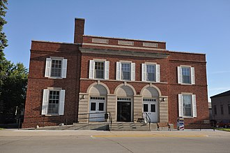 National Register of Historic Places listings in Calhoun County, Iowa - Image: Lake City IA Community Memorial Building