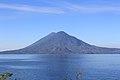Lake Atitlan, Volcan Toliman and Volcan Atitlán (15772729409).jpg