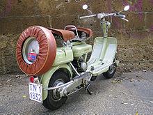 Lambretta D 125 del 1952