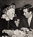 Lana Turner and Bob Hutton dining at The Troc, 1946.jpg