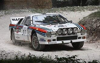 Lancia Rally 037 - Image: Lancia Rally 037